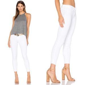 Paige Verdugo Crop Jeans White